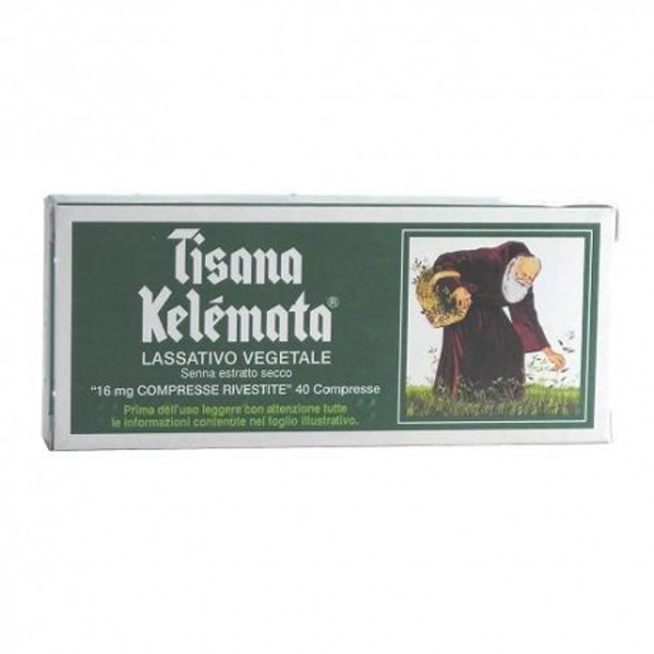 Image For Kelemata Kelemata 16mg Herbal Treatment Occasional Constipation 40 Coated Tablets
