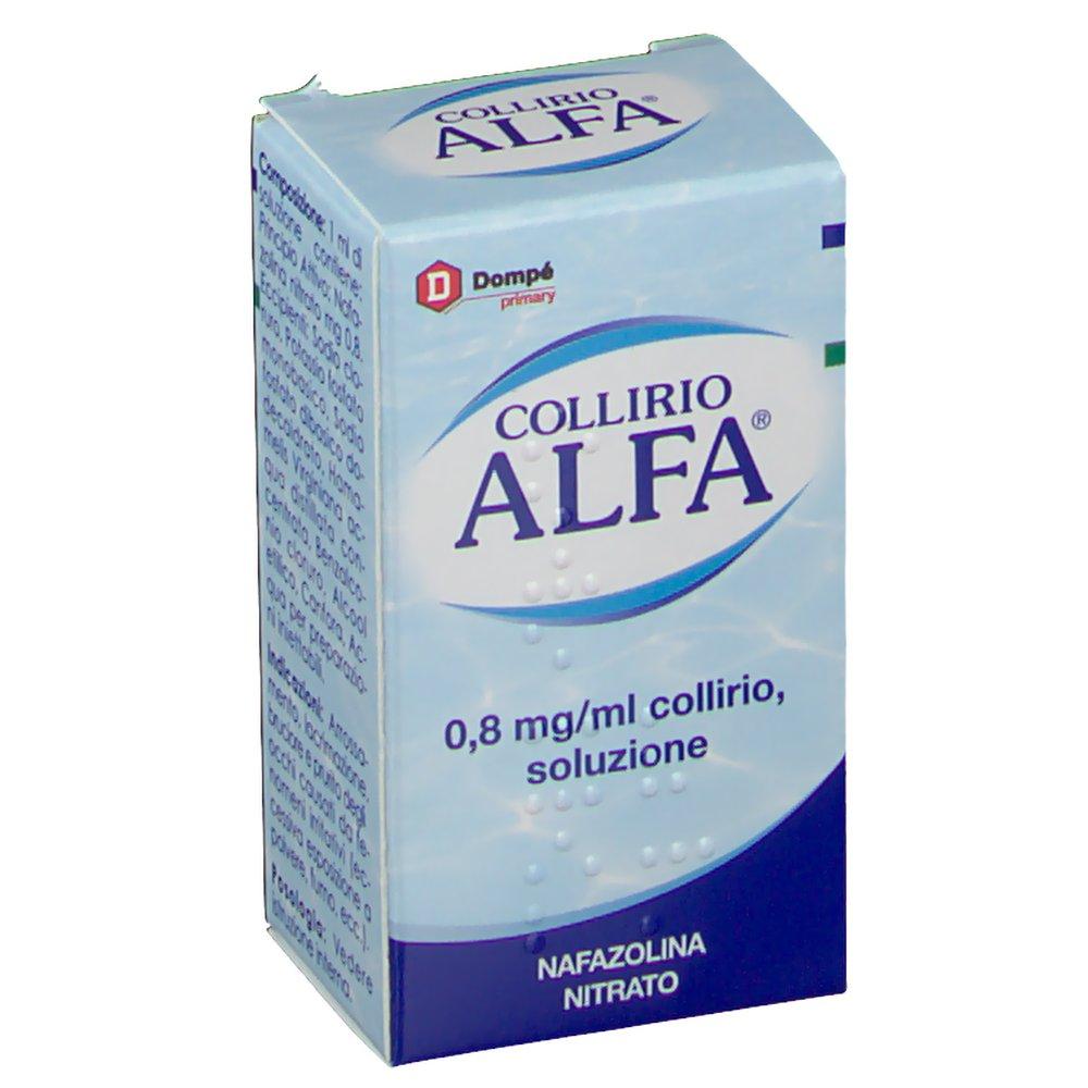Bracco Collirio Alfa gocce Da 10ml 8mg/ml