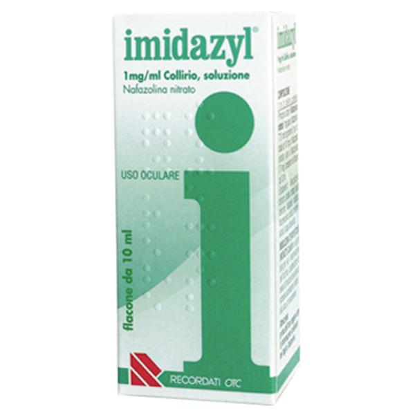 Recordati Imidazyl Collirio 0,1% Flacone Da 10ml