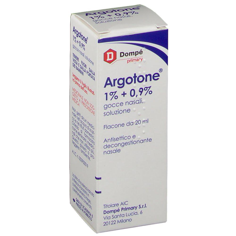 Argotone 1% + 0.9%  Gocce Nasali 20ml