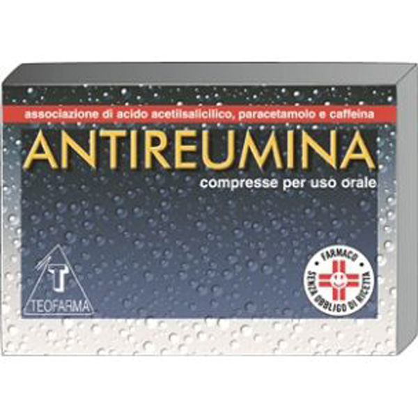 Teofarma Antireumina Trattamento Sintomatico Stati Febbrili E Sindromi Da Raffreddamento 10 Compresse