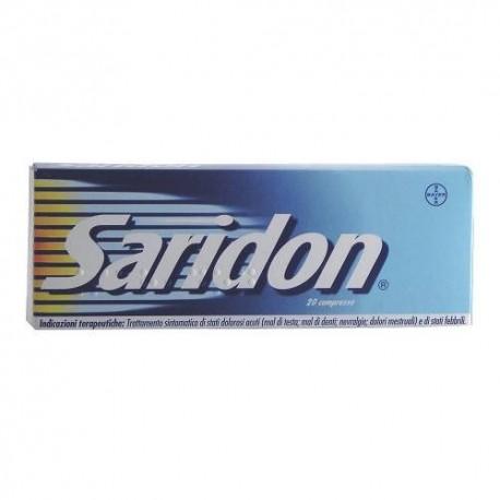 Saridon Paracetamolo 20 Compresse