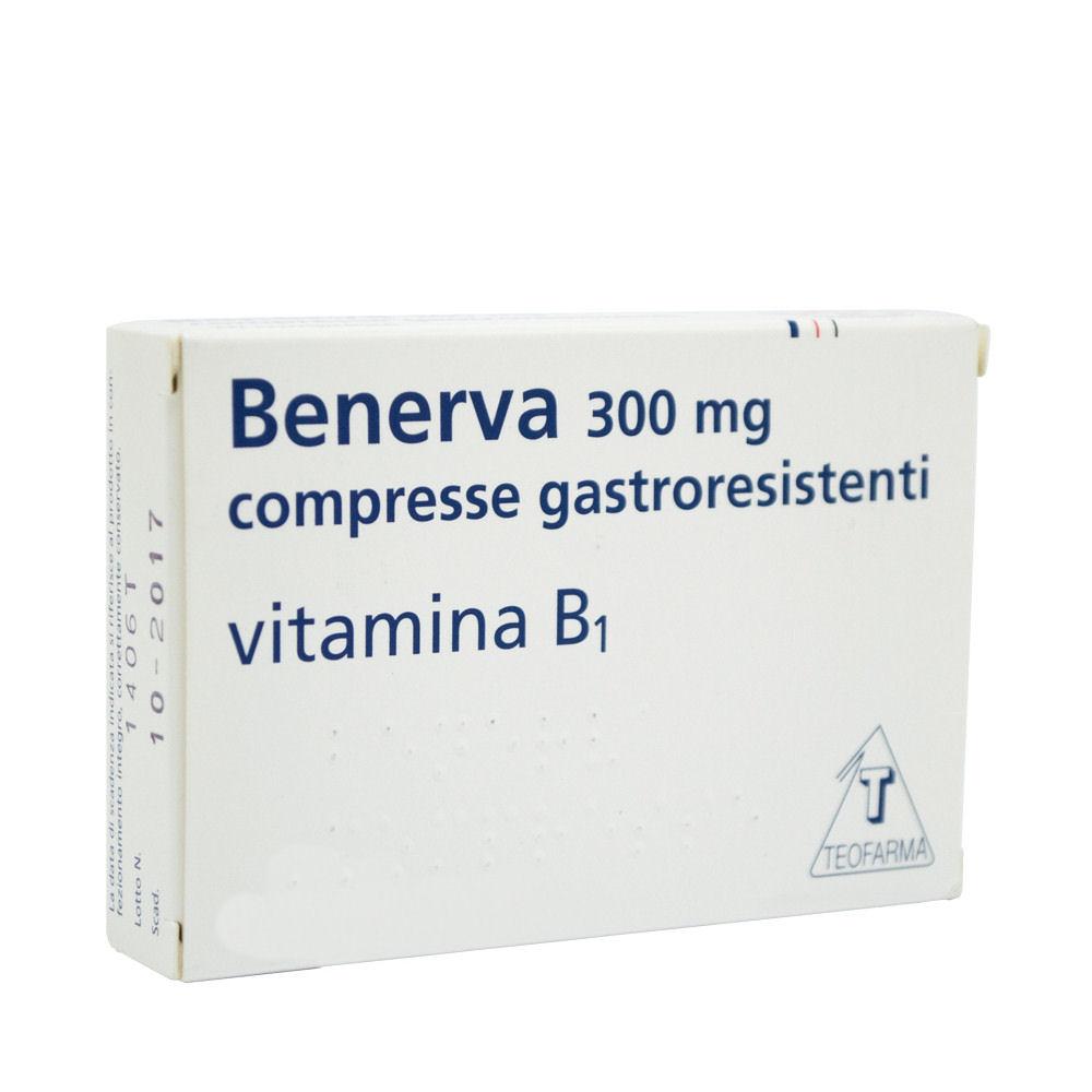 Benerva Vitamina B1 20 Compresse 300mg