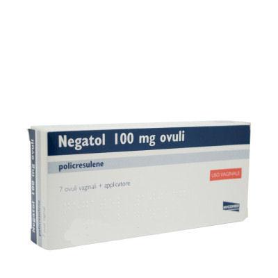 Negatol 0,1g  7 Ovuli Vaginali+ Applicatori