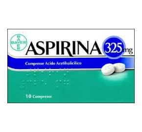 Aspirina 325mg Compresse 10 Compresse