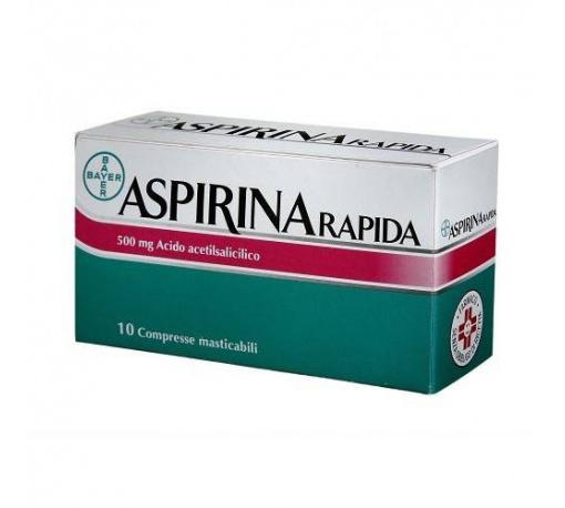 Aspirina Rapida 500mg 10 Compresse Masticabili