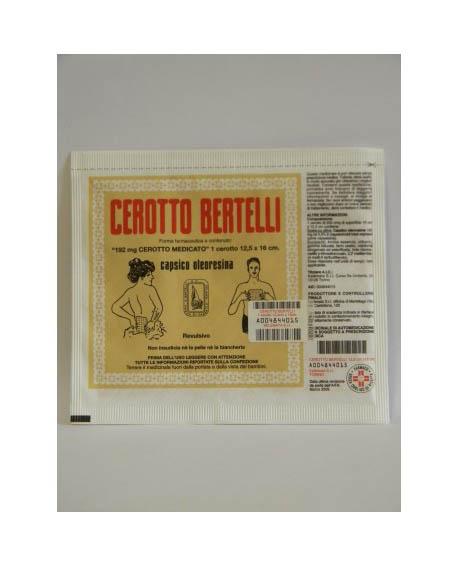 Kel�mata Cerotto Bertelli Medio Uso Topico Per Dolori Articolari E Muscolari Cerotto 16x12cm