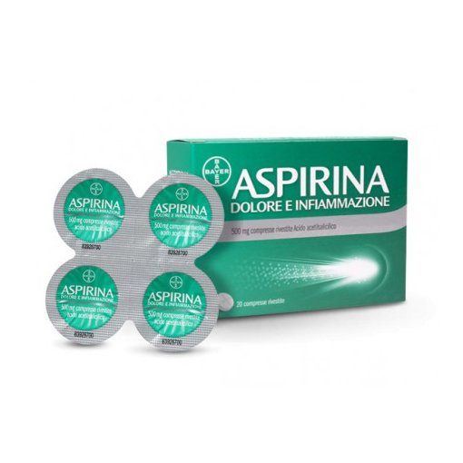 Aspirina Dolore E Infiammazione  500mg 20 Compresse Rivestite