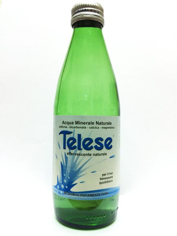 Image of Acqua Minerale - Telese Terme - Sulfurea Bicarbonata Magnesiaca 250 ml P00004954