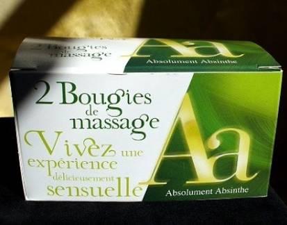 Image of Absolument Parfumer Absolument Absinthe Candele Profumate Da Massaggio P00005304