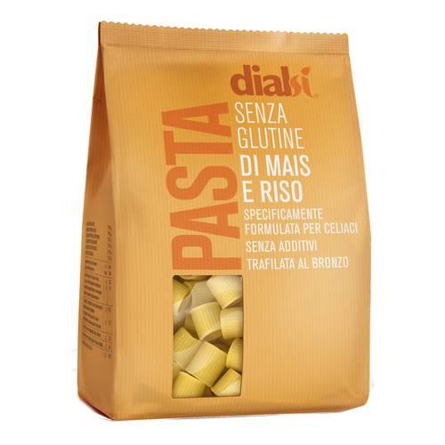 Image of Dialsì Mezze Maniche Con Farina Di Mais E Riso Pasta Senza Glutine 400g 971974112