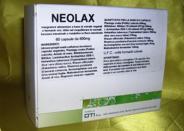 Oti Neolax Integratore Alimentare 60 Compresse