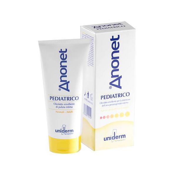 Anonet Pediatrico Oleolatte Emolliente Per Igiene Perianogenitale 200ml