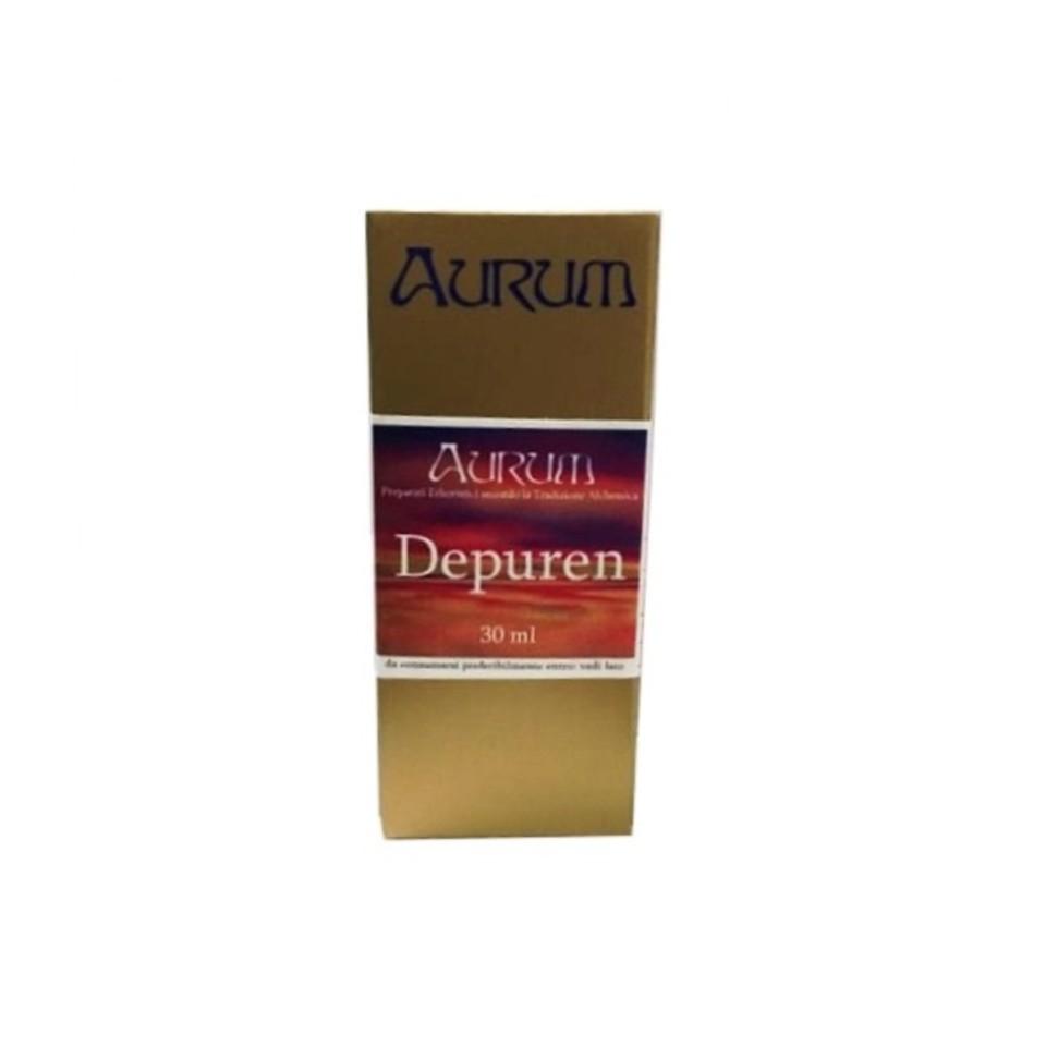 Image of Aurum Depuren Rimedio Erboristico In Gocce 30ml 900091327