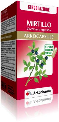 Arkopharma Mirtillo Arkocapsule Integratore Alimentare 90 Capsule