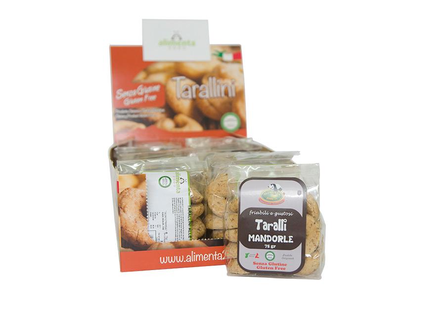 Image of Alimenta 2000 Taralli Alle Mandorle Senza Glutine 250g 900284074