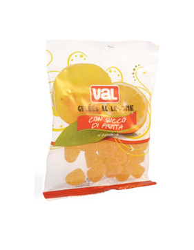 Image of Val Gelees Caramelle Gommose Al Limone 100g
