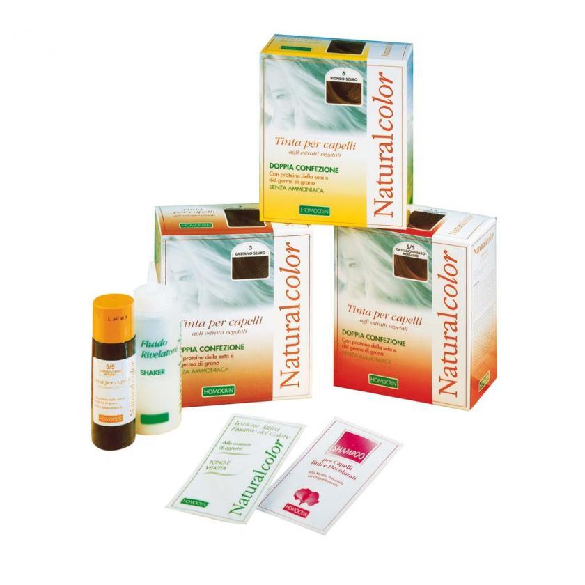 Specchiasol Homocrin Naturalcolor Tinte Per Capelli Agli Estratti Vegetali Biondo Scuro Mogano Rosso 6/56