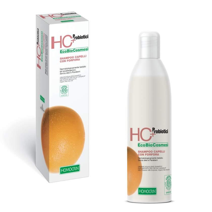 Specchiasol Homocrin Shampoo Naturale Normalizzante Per Capelli Grassi Con Forfora Secca e Grassa 250 ml