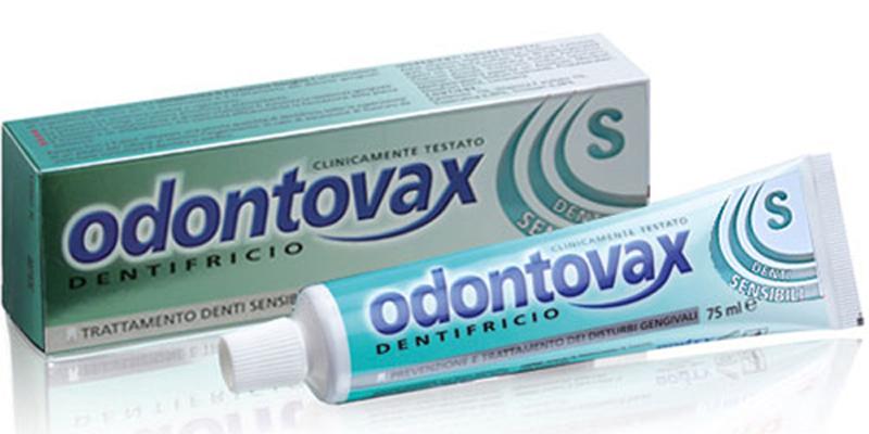 Bouty Odontovax S Dentifricio Per Denti Sensibili 75ml