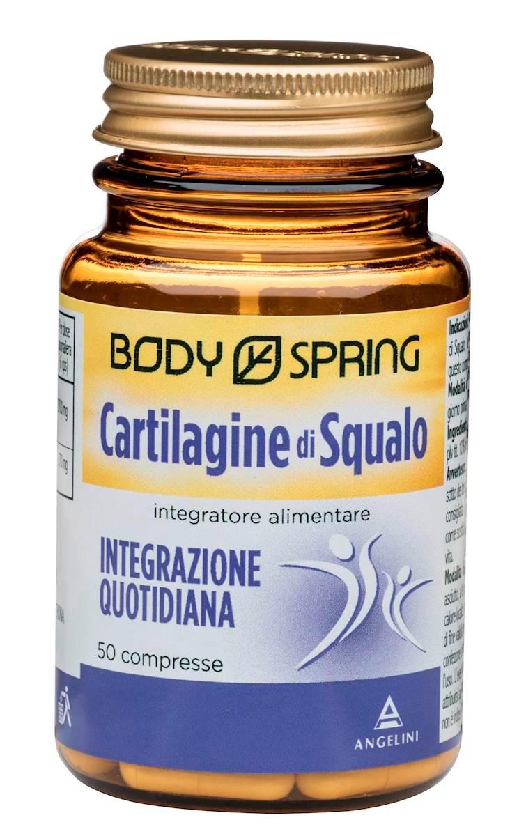 Body Spring Cartilagine Di Squalo Integratore Alimentare 50 Capsule