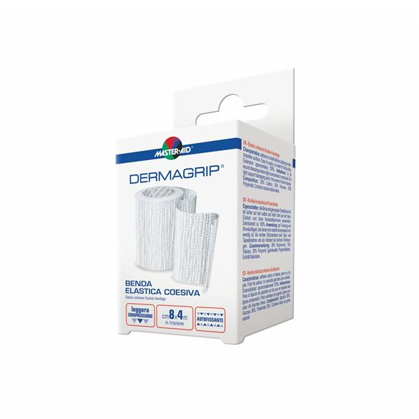 Master Aid® Dermagrip® Benda Elastica Coesiva 4cm x 4m 1 Benda
