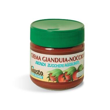 Giusto Crema Gianduia Nocciole Senza Zuccheri Aggiunti Senza Glutine 200g