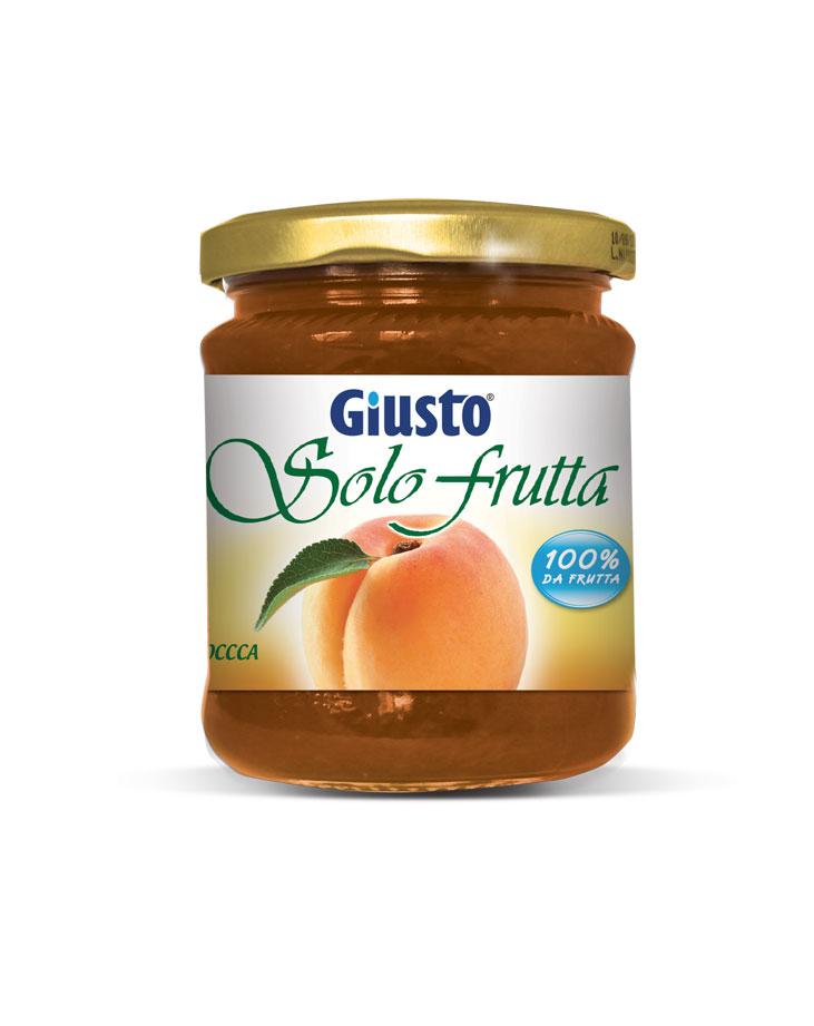 Giusto Marmellata Di Albicocca Senza Zucchero Senza Glutine 250g