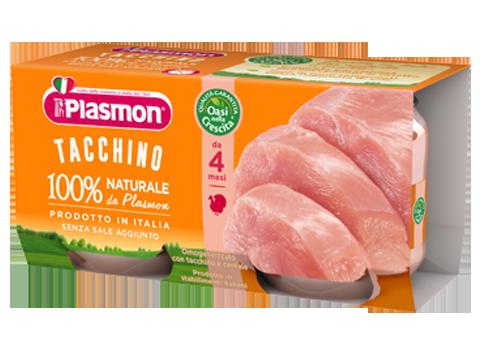 Plasmon Omogeneizzato Tacchino 2 Vasetti Da 80g