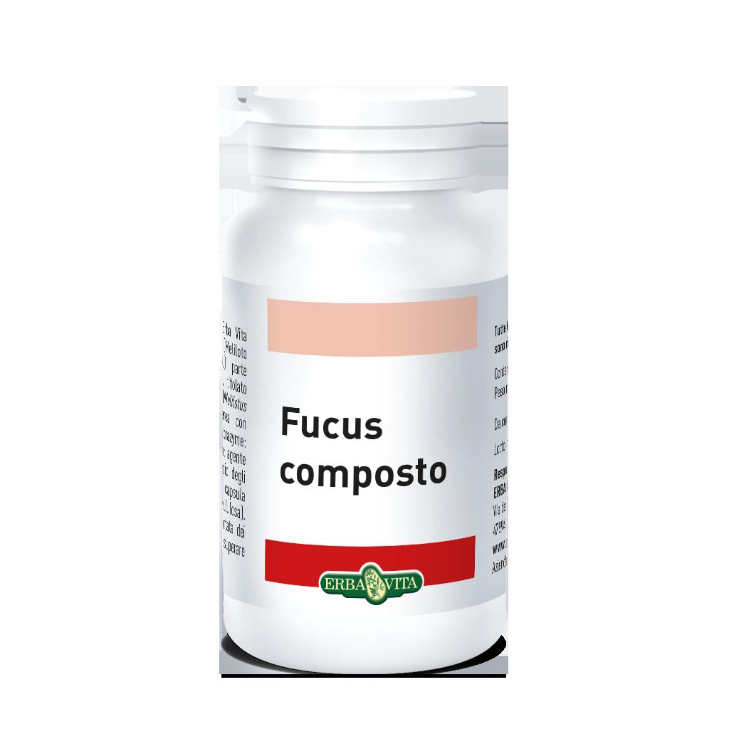 ErbaVita Capsule Composte Fucus Integratore Alimentare 60 Capsule