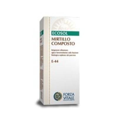 Forza Vitale Ecosol Mirtillo Composto Integratore Alimentare 60 Compresse