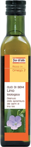 Fior Di Loto Olio Semi Lino Biologico 250ml