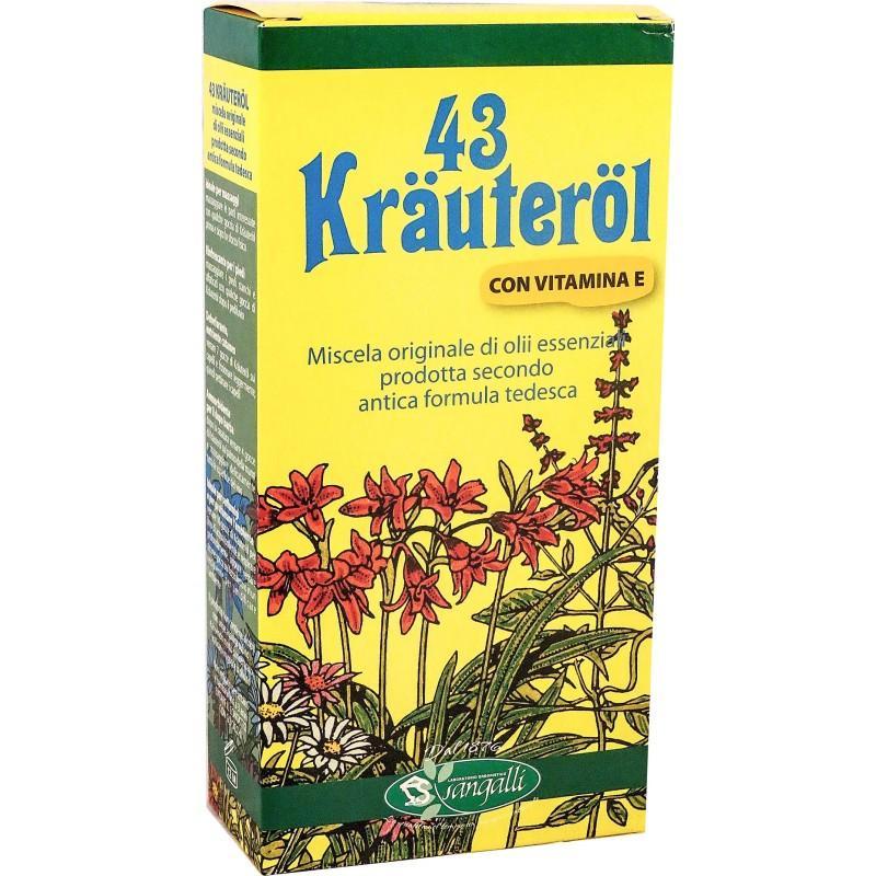 Sangalli Olio Krauterol 43 Integratori Alimentari 100ml