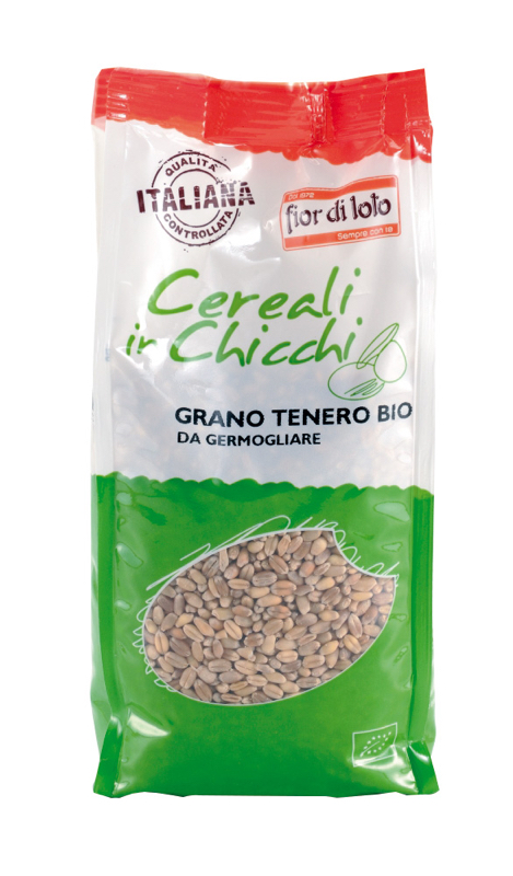Fior Di Loto Cereali In Chicchi Grano Tenero Da Germogliare Biologico 500g