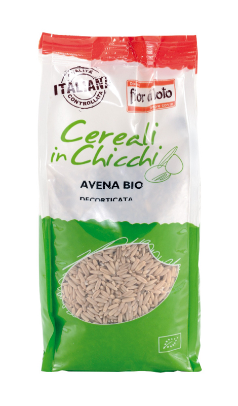 Fior Di Loto Cereali In Chicchi Avena Decorticata Biologico 500g