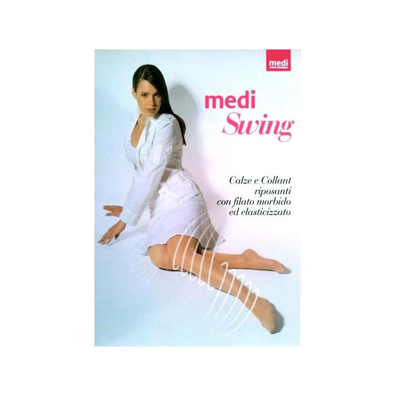 Medi Collant preventivo 1450 Medi Swing 18 MmHg 140 Den Mis.2 Nero