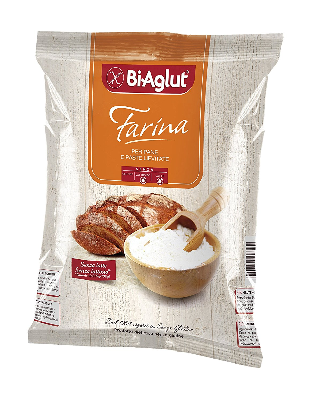 Image of Bi-Aglut Farina Per Pane E Paste Lievitate Senza Glutine 1kg 902068966