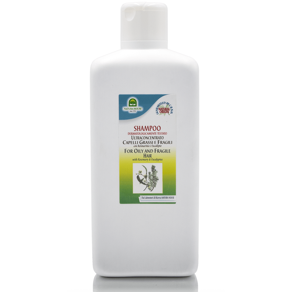 Natura House Shampoo Capelli Grassi E Fragili 250 ML