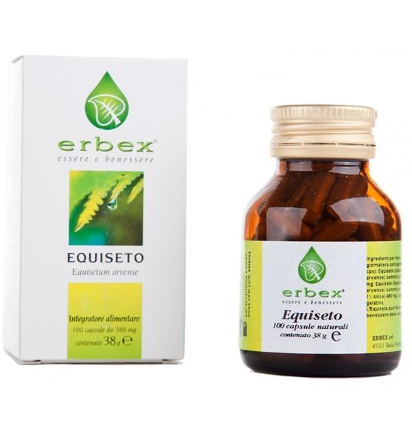 Erbex Equiseto Integratore Alimentare 100 Compresse 380mg
