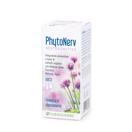 Farmaderbe PhytoNerv Liquido Integratore Alimentare 100ml