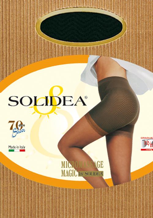 Solidea Magic 70 Collant Anticellulite Color Sabbia Taglia 4