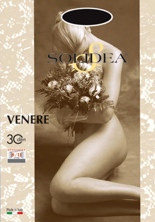 Solidea Venere 30 Collant Nude Color Visone Taglia 3