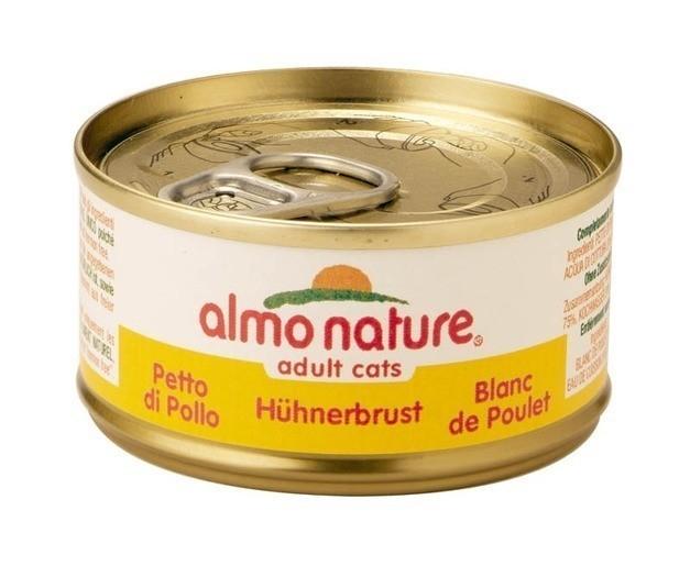 Image of Almo Nature Alimento Per Gatti Gusto Pollo Bianco 70g 902282375