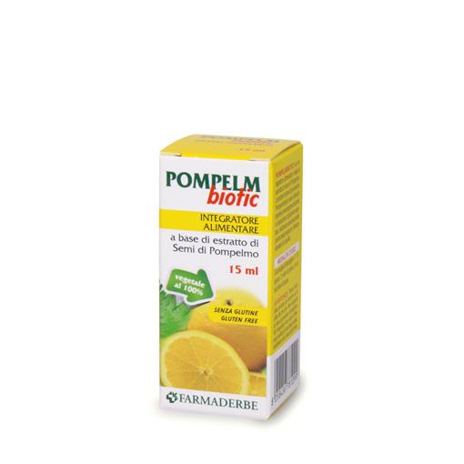 Farmaderbe Pompelm Biotic Integratore Alimentare Gocce 15ml