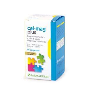 Farmaderba Cal-Mag Plus Integratore Alimentare 60 Compresse