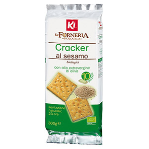 Ki La Forneria Cracker Sesamo Biologico 300g