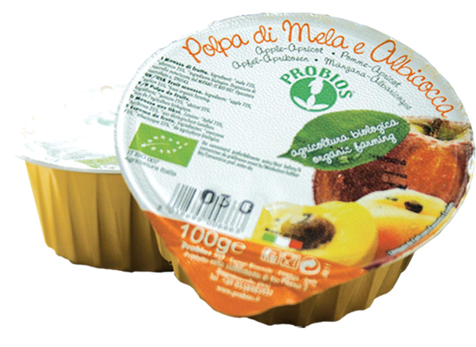 Probios Frutta Polpa Di Mela E Albicocca Biologica 100g