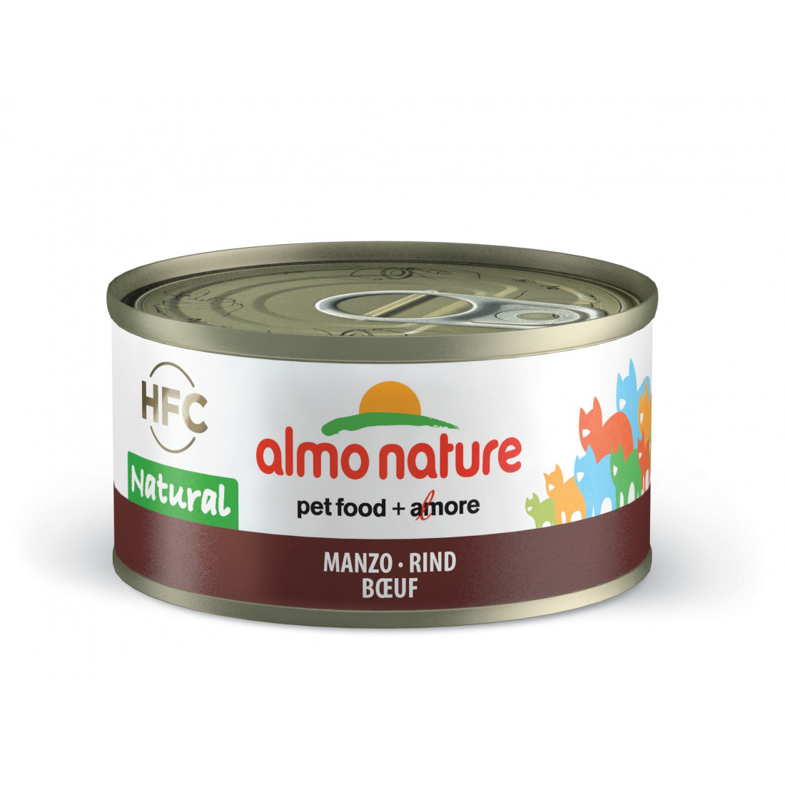 Image of Almo Nature Cat Manzo 70g