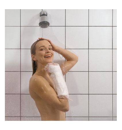 Image of AquaProtect Braccio Intero Protezione Per Gessi O Medicazioni Misura Small 1 Pezzo 902508035
