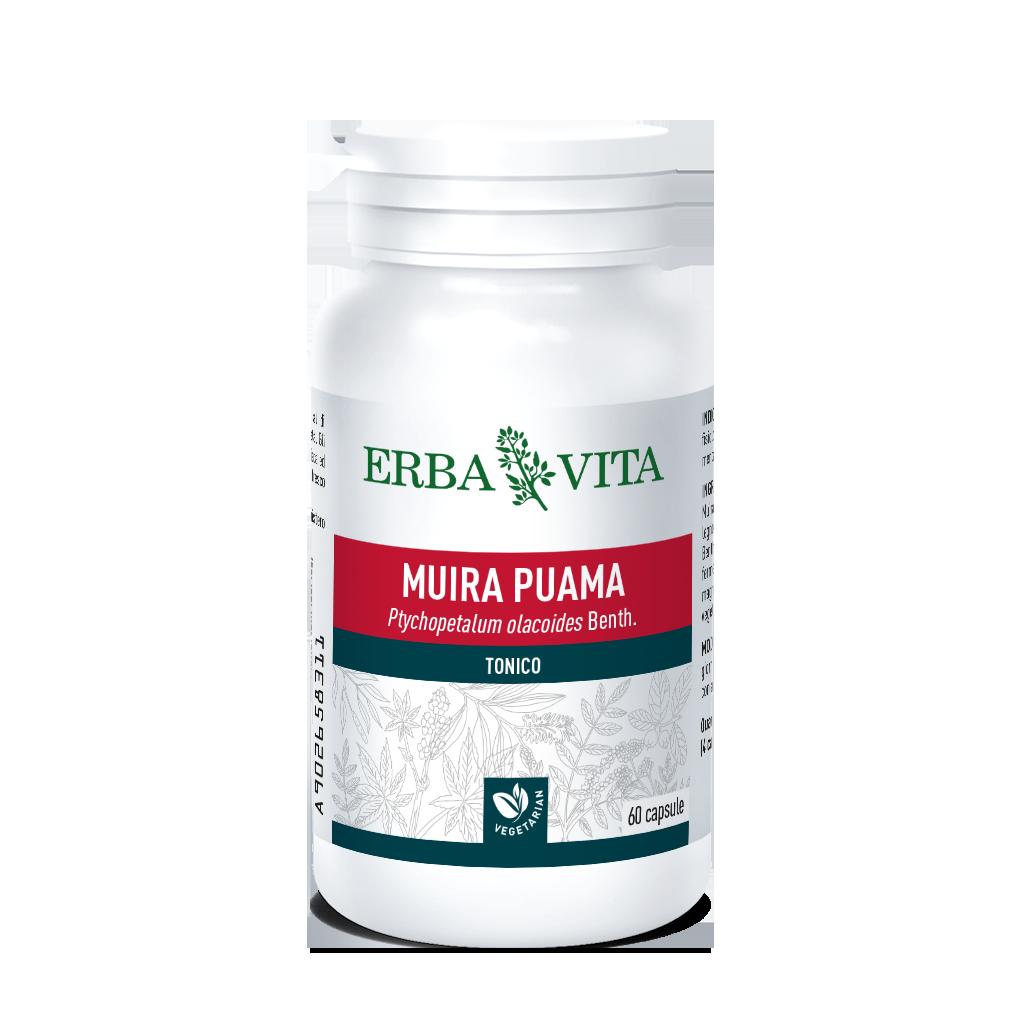 Erba Vita Capsule Monoplanta Muira Puama Integratore Alimentare 60 Capsule